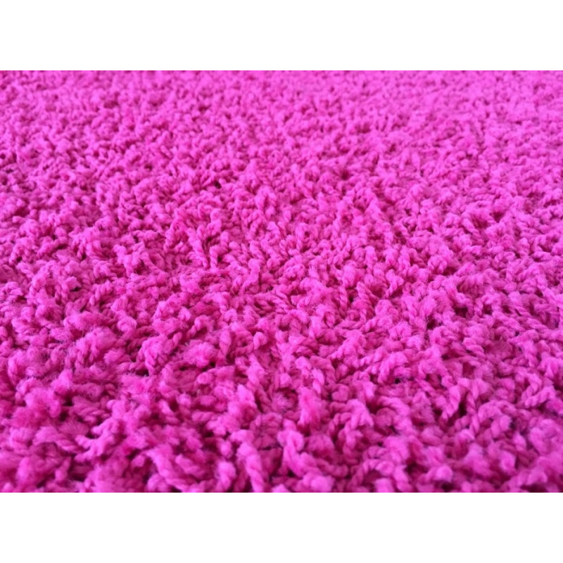 AKCE: 60x110 cm Kusový koberec Color shaggy růžový