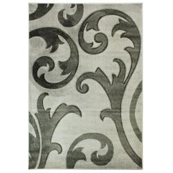 AKCE: 160x230 cm Kusový koberec Hand Carved Elude Grey/Grey