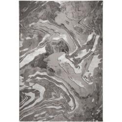 AKCE: 160x230 cm Kusový koberec Eris Marbled Silver