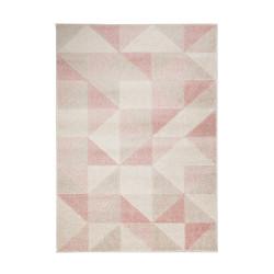 AKCE: 133x185 cm Kusový koberec Urban Triangle Blush/Pink