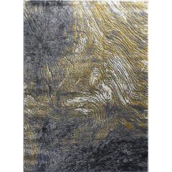 AKCE: 140x190 cm Kusový koberec Zara 9660 Yellow Grey