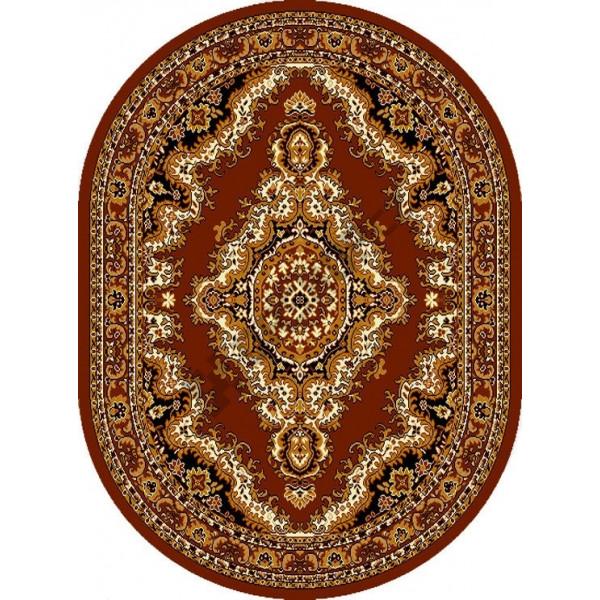 Kusový koberec TEHERAN-T 102/brown ovál