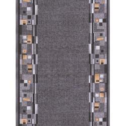AKCE: 100x100 cm s obšitím Protiskluzový běhoun na míru Bombay 97