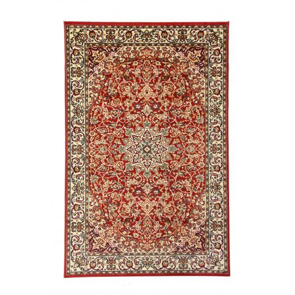 Sintelon koberce Kusový koberec SOLID 55CPC, 200x300 cm% Červená - Vrácení do 1 roku ZDARMA vč. dopravy