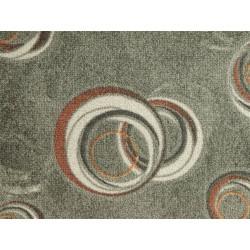 AKCE: 130x500 cm Metrážový koberec Drops 92