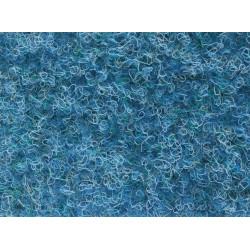 Metrážový koberec Santana 30 modrá s podkladem resine