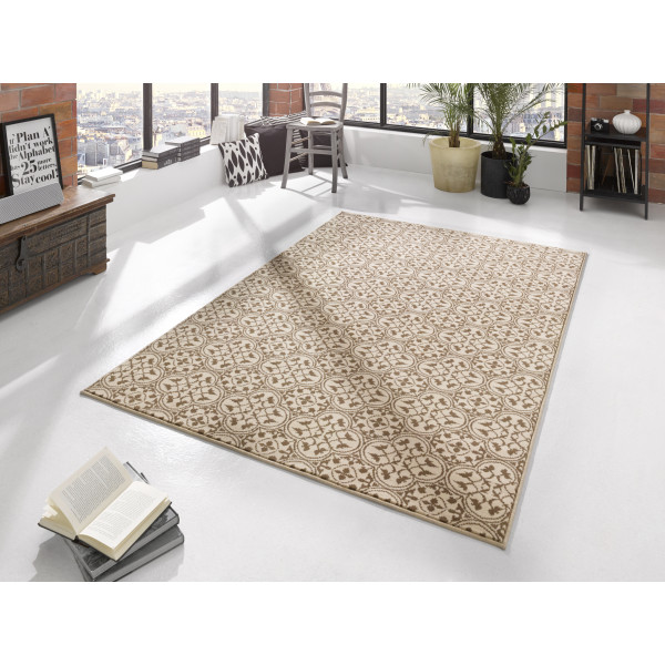 Hanse Home Collection koberce Kusový koberec Gloria 102413, koberců 120x170 cm Hnědá - Vrácení do 1 roku ZDARMA