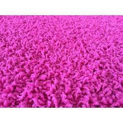 AKCE: 50x80 cm Kusový koberec Color shaggy růžový