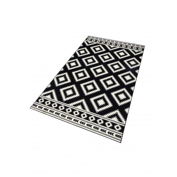 Hanse Home Collection koberce Kusový koberec Gloria 102412, 160x230 cm% Černá - Vrácení do 1 roku ZDARMA vč. dopravy