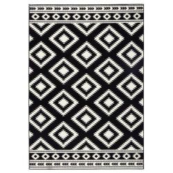 Kusový koberec GLORIA Ethno Schwarz Creme