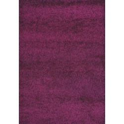 AKCE: 160x230 cm Kusový Koberec Shaggy Plus Purple 957