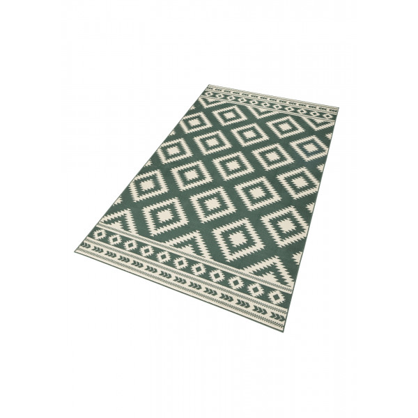 Hanse Home Collection koberce Kusový koberec Gloria 102409, 80x200 cm% Zelená - Vrácení do 1 roku ZDARMA vč. dopravy