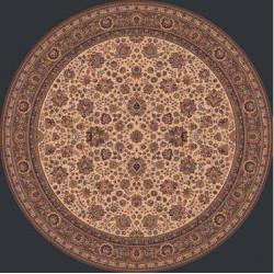 AKCE: 80x80 (průměr) kruh cm Kusový koberec Royal 1570-504