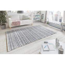 AKCE: 120x170 cm Kusový koberec Madison 102779 Schwarz Creme