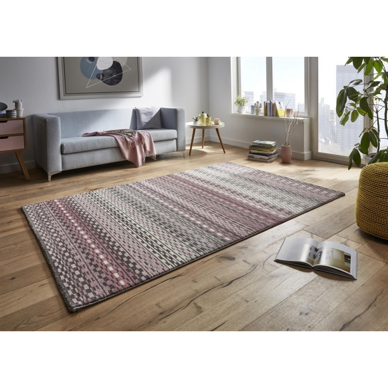 AKCE: 120x170 cm Kusový koberec Tifany 102773 Shiver Rosa Pink