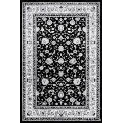 AKCE: 160x230 cm Kusový koberec Silkway F466A Black