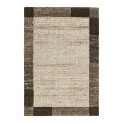 AKCE: 67x130 cm Kusový koberec Samoa 152060 Border Brown