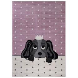 AKCE: 120x170 cm Dětský kusový koberec Candy 156 Rose