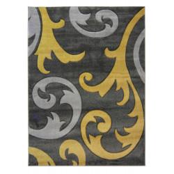 AKCE: 160x230 cm Kusový koberec Hand Carved Elude Ochre