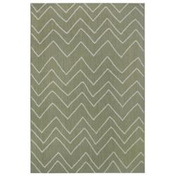 AKCE: 120x170 cm Kusový koberec Flatweave 104843 Green/Cream