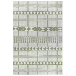 AKCE: 120x170 cm Kusový koberec Flatweave 104853 Green/Cream
