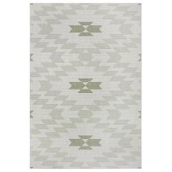 AKCE: 120x170 cm Kusový koberec Flatweave 104870 Cream/Green