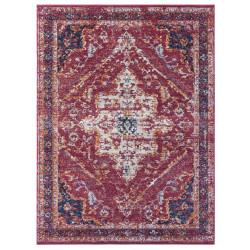 AKCE: 120x170 cm Kusový koberec Lugar 104092 Raspberry Red