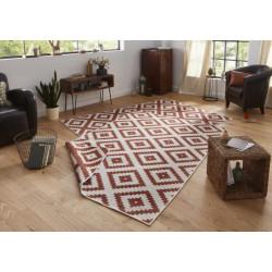 AKCE: 80x350 cm Kusový koberec Twin-Wendeteppiche 103130 terra creme
