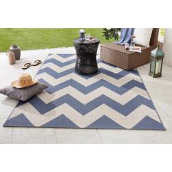 AKCE: 80x150 cm Kusový koberec Meadow 102735 blau/beige