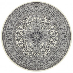 Kruhový koberec Mirkan 104437 Cream