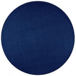 AKCE: 200x200 (průměr) kruh cm Kusový koberec Nasty 104447 Darkblue
