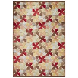 Kusový koberec Creative 103966 Brown/Multicolor z kolekce Elle