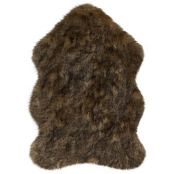 Kusový koberec Freja Faux Fur Copenhagen Brown