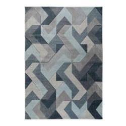 Kusový koberec Hand Carved Aurora Denim Blue