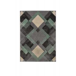 Kusový koberec Hand Carved Nimbus Mint/Grey/Cream