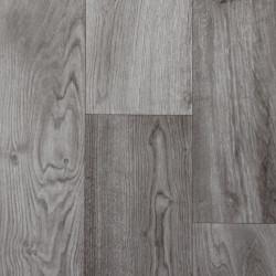 AKCE: 400x800 cm PVC podlaha Supertex 4310-477 tmavě šedý
