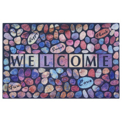 AKCE: 45x75 cm Protiskluzová rohožka Mujkoberec Original 104677 multicolor