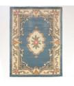 AKCE: 120x180 cm Ručně všívaný kusový koberec Lotus premium Blue