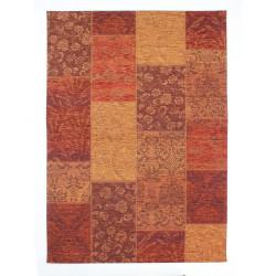 Kusový koberec Manhattan Patchwork Chenille Terracotta