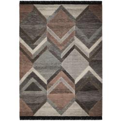 Kusový koberec Nevado Piero Grey/Pink