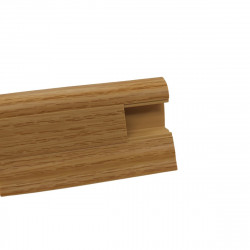 Lišta PVC obvodová SLK50 W129 Dub