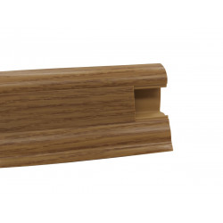 Lišta PVC obvodová SLK50 W130 Dub kanadský