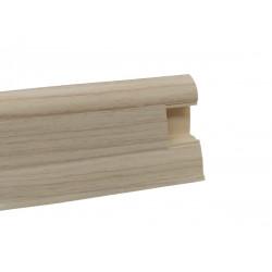 Lišta PVC obvodová SLK50 W131 Jasan