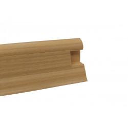 Lišta PVC obvodová SLK50 W136 Buk zlatý