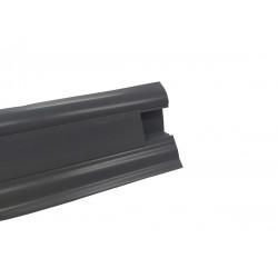 Lišta PVC obvodová SLK50 W146 Tmavě šedá