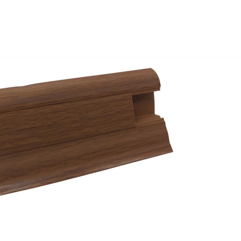 Lišta PVC obvodová SLK50 W174 Doussie