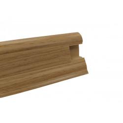 Lišta PVC obvodová SLK50 W180 Dub zlatý