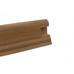 Lišta PVC obvodová SLK50 W185 Akát zlatý