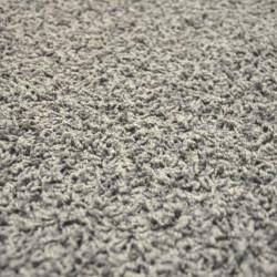 Kusový šedý koberec Color Shaggy čtverec
