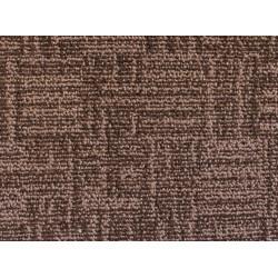 Metrážový koberec Marioka 22046 Tmavě hnědý